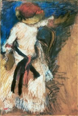 Seated Woman - Edgar Degas