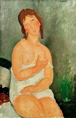 Seated young woman - Amedeo Modigliani