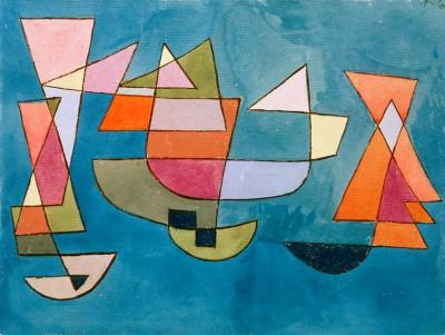 Segelschiffe - Paul Klee