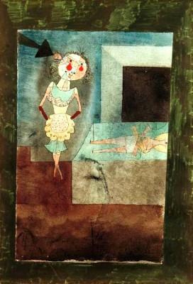 Selbstmord eines Stubenmädchens - Paul Klee