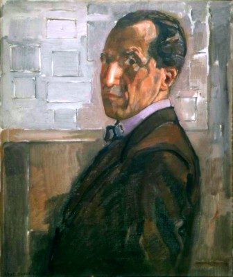 Selbstporträt - Piet Mondrian
