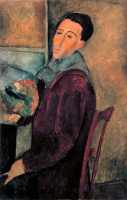 Self-portrait - Amedeo Modigliani