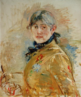 Self portrait - Berthe Morisot