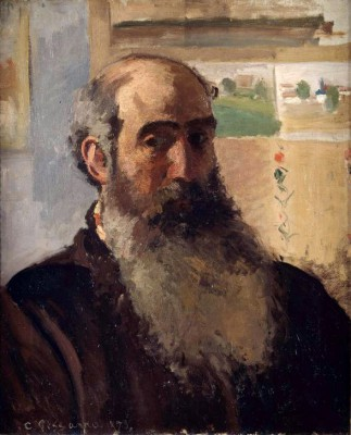 Self-portrait - Camille Pissarro