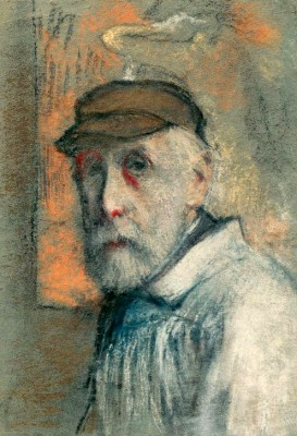 Self-portrait - Edgar Degas