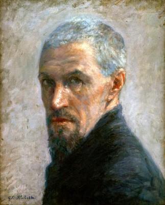 Self-portrait - Gustave Caillebotte