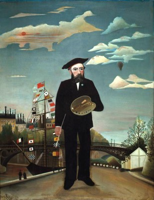 Self portrait - Henri Rousseau