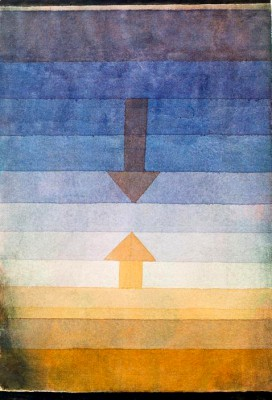 Separation in the Evening - Paul Klee