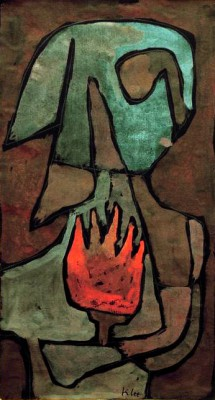 She guards the Flame - Paul Klee