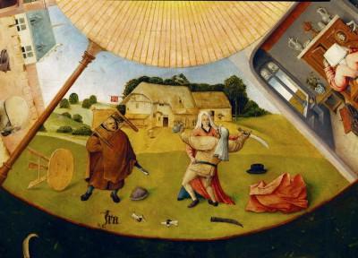 Siedem grzechów gł. i cztery rzeczy ostateczne - Ira - Hieronim Bosch