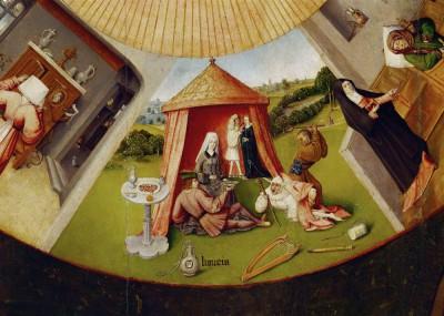 Siedem grzechów gł. i cztery rzeczy ostateczne - Luxuria - Hieronim Bosch