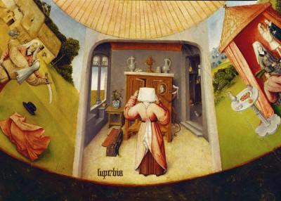 Siedem grzechów gł. i cztery rzeczy ostateczne - Superbia - Hieronim Bosch