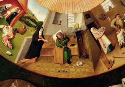 Siedem grzechów gł. i cztery rzeczy ostateczne -Acedia - Hieronim Bosch