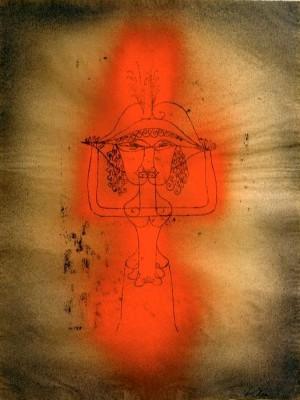 Singer of the Comic Opera - Paul Klee