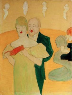 Singer pair - Marianne von Werefkin