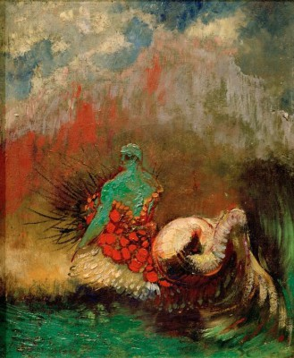 Sirène - Odilon Redon