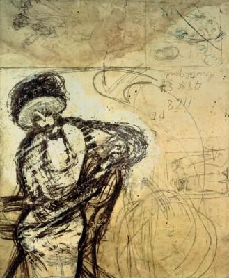 Sitzende Frau - Juan Gris