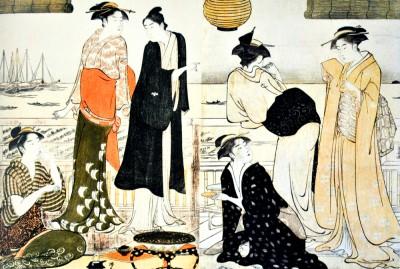Sixth month - Torii Kiyonaga