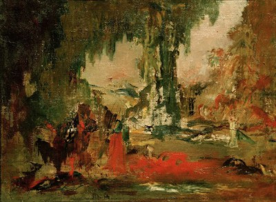 Sketch (9) - Gustave Moreau