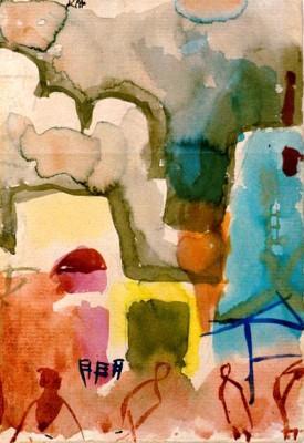 Sketch of Tunisia - Paul Klee
