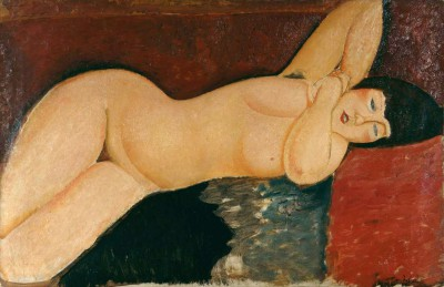 Sleeping Nude - Amedeo Modigliani