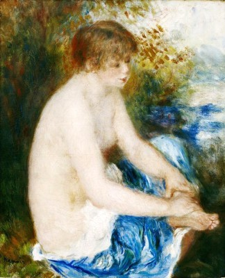 Small blue nude - Pierre Renoir