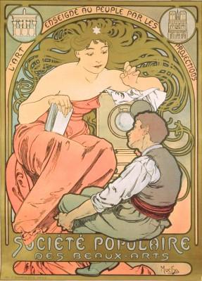 Société Populaire des Beaux-Arts (2) - Alfons Mucha