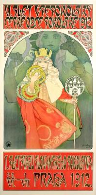Soko-Festival in Prag - Alfons Mucha