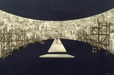 Solar eclipse - Marianne von Werefkin