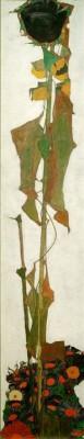 Sonnenblume II - Egon Schiele