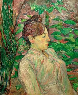 Sous la verdure - Henri de Toulouse-Lautrec