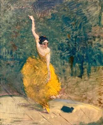Spanische Tänzerin - Henri de Toulouse-Lautrec