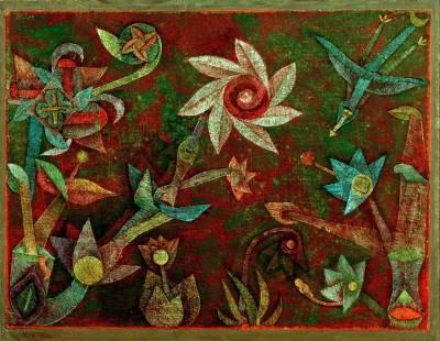 Spiral Flowers - Paul Klee