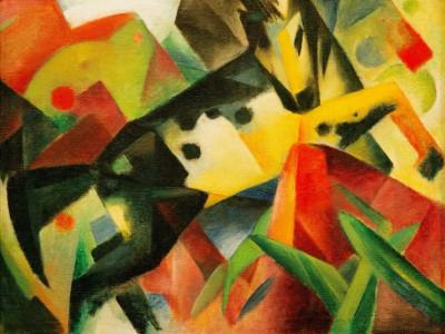 Springendes Pferd - Franz Marc