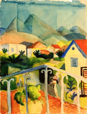 St. Germain bei Tunis - August Macke