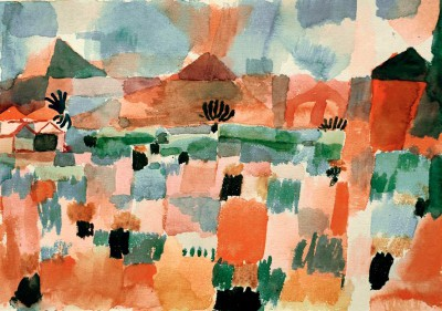 St. Germain near Tunis - Paul Klee