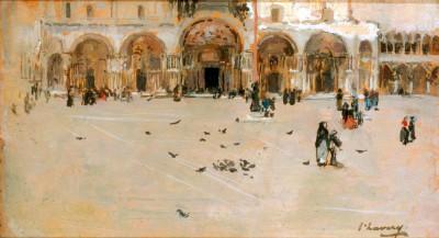 St. Mark's - Venice - John Lavery