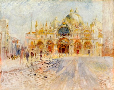 St. Mark's Square, Venice - Pierre Renoir