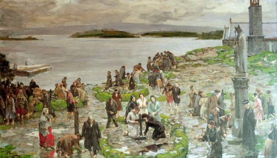 St. Patrick's Purgatory - John Lavery