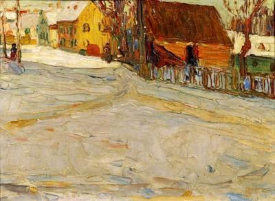 Stadtlandschaft - Wassily Kandinsky
