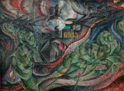 Stany Duszy - Pożegnanie - Umberto Boccioni