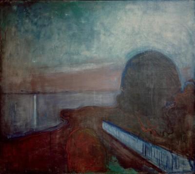 Starry night - Edvard Munch