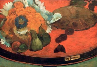 Still Life Fete Gloanec - Paul Gauguin