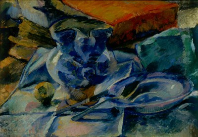 Still Life with Earthenware - Umberto Boccioni