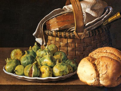 Still life with figs - Luis Meléndez