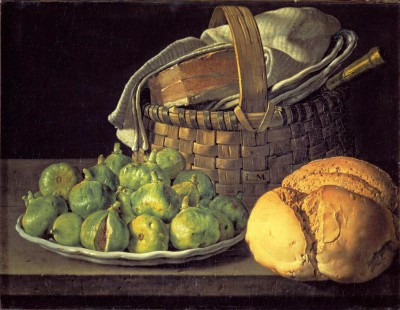 Still-life with figs - Luis Meléndez