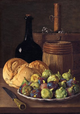 Still Life with Figs and Bread - Luis Meléndez