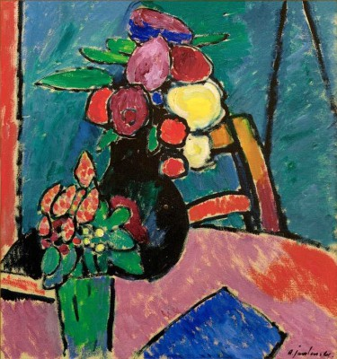 Still life with flowers - Aleksiej Jawlensky