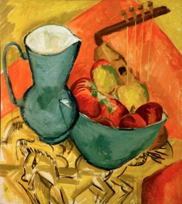 Still life with jug - Ernst Ludwig Kirchner