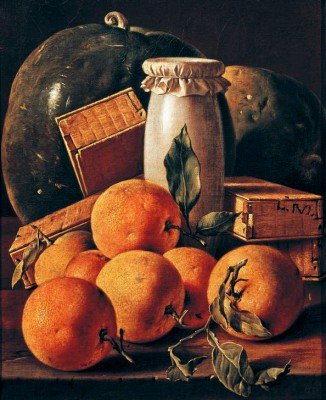 Still life with oranges and preserves - Luis Meléndez